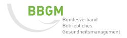 Logo BBGM Fachkraft für Betriebliches Gesundheitsmanagement