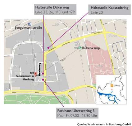 Anfahrtsbeschreibung Hamburg