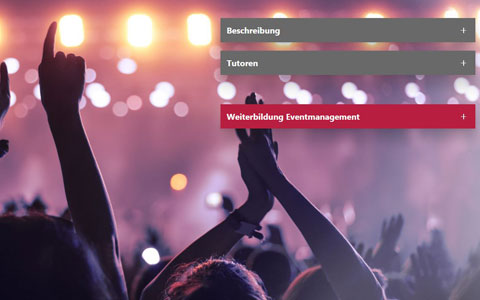 Web Based Training Eventmanagement
