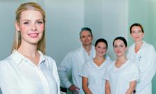 """Die IST-Hochschule vergibt ein Arbeitgeber-Stipendium für den dualen Bachelor-Studiengang """"Management im Gesundheitswesen""""."""