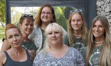 IST-Studentinnen sammeln Auslandserfahrung auf Bali.
