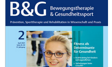 """Gewinnen Sie eines der fünf Exemplare des Fachblattes """"Bewegungstherapie & Gesundheitssport""""."""