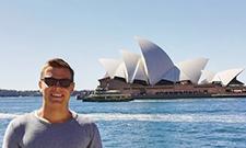 Christopher Heweling absolviert sein Auslandssemester in Australien.