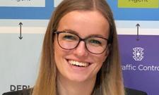 IST-Studentin Claire Pipper startet in der IT-Branche durch.