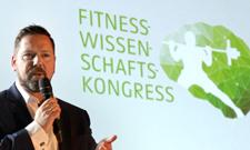 Prof. Dr. Stephan Geisler eröffnete den 2. Fitnesswissenschaftskongress.