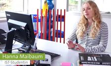 Master-Studentin Hanna Maibaum ist erfolgreich im BGM bei Miele tätig.