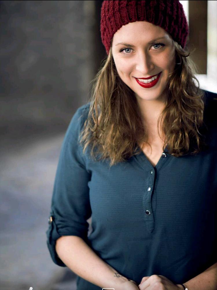 Sauna-Meisterin Jessica Circu ist beruflich angekommen.