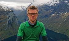 IST-Student Julian Blocksiepen in Norwegen.