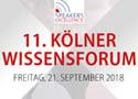 Begleiten Sie uns zum Kölner Wissenforum.