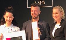 Marco Fleissner (Bildmitte) hat den 3. Platz belegt.