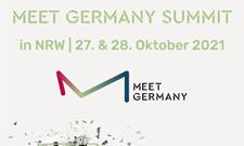 MEET GERMANY SUMMIT in NRW: Seien Sie dabei!