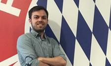 IST-Student Michael Käser ist Praktikant beim FC Bayern München
