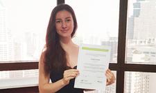 IST-Studentin Michelle Wetzel ging mit Promos-Stipendium nach Thailand.