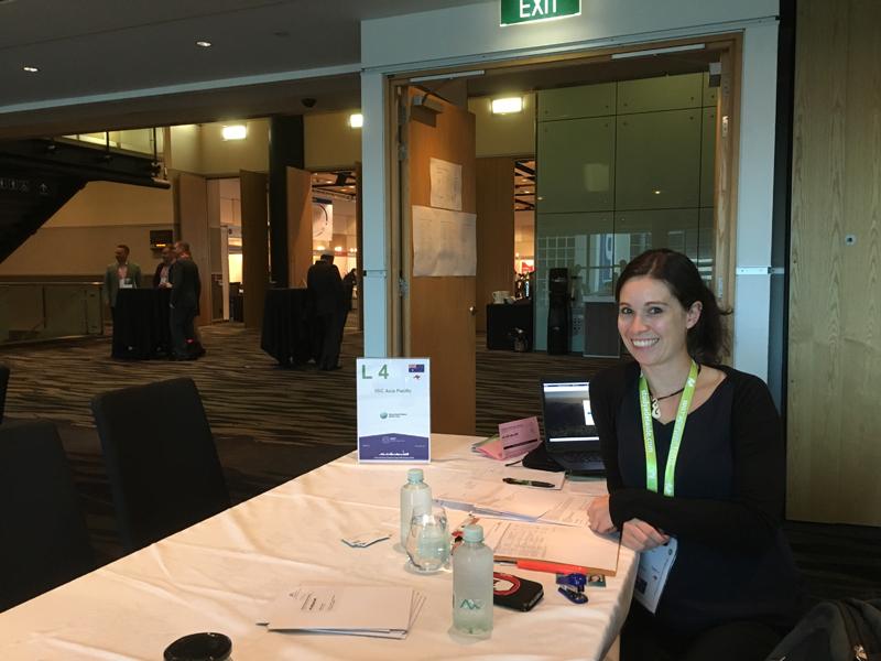 Nadine Schmidt ist glücklich in Australien.
