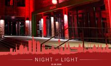 """Das IST hat sich an der bundesweiten Aktion """"Night of Light"""" beteiligt."""