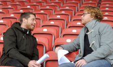 Patrick Kleinmann interviewt Andreas Lambertz.