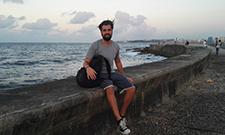 """Philipp Burk studiert """"Tourismus Management"""" an der IST-Hochschule."""