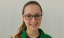 Sabrina Meinhardt, Sportschützin der 2. Bundesliga, absolviert am IST Master-Studiengang.