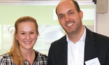 """Hanna Büttner und Stephan Schulan sind ein """"Tandem"""" im IST-Mentoring-Programm."""