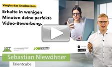 Sebastian Niewöhner gibt wertvolle Tipps rund um eine Video-Bewerbung.