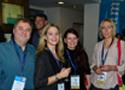 """Denise Boymann (4.v.l.) vom IST-Fachbereich """"Wellness & Gesundheit"""" mit Teilnehmern des SpaCamps"""