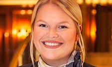 """Theresa Harff freut sich auf ihr Studium """"Hotel Management""""."""