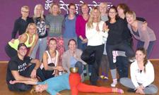 """Wir gratulieren unseren """"frisch gebackenen"""" Yoga-Lehrern!"""